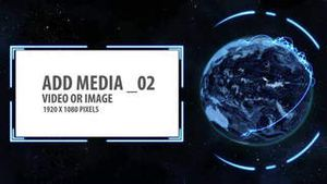 Space and Earth Media Panels 4 AE Version 5