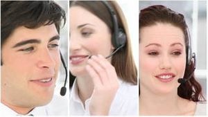Working in a business call centre