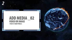 Space and Earth Media Panels (3 projects) AE Version 5