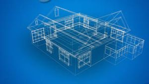 3d Blueprints of a house