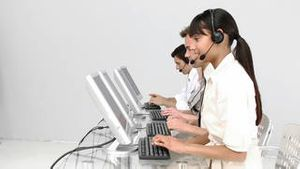 International customer service representatives
