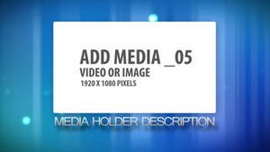 Colorful Simple Media Display AE Version 5