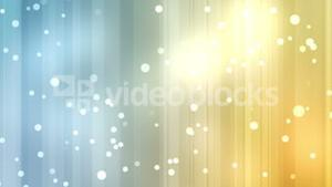 Yellow and blue streams of light with shining stars