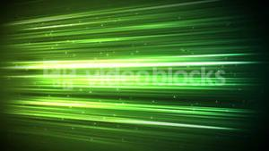 Digital green stroke with sparks