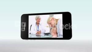 Medical videos on a smartphone