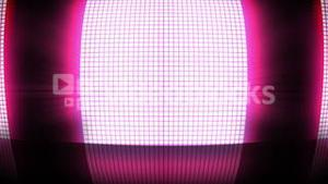 Pink disco lights