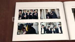 Book with graduation videos