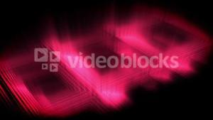 Pink glow forming a square