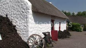 An Old Irish Cottage