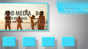 Social media display AE Version 5