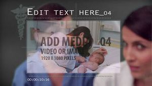 Medical media slide show AE Version 5
