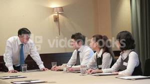 Video of business people