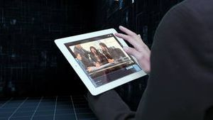 Business tablet linked with cloud AE Version 5