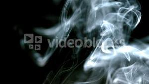 White smoke filling the screen