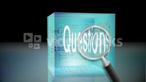 Questions and answers animation