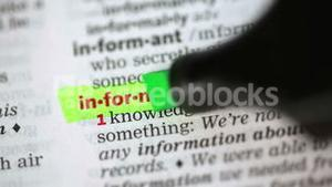 Definition of information