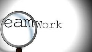 Team Work Magnifying Glass