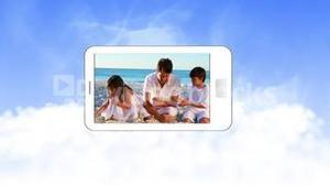 Video of family during summer holidays