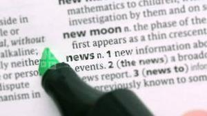 News highlighted in green