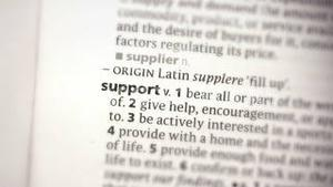 Focus on support