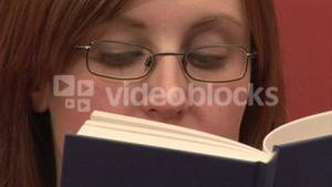 Stock Footage Reading