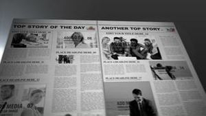 Editable News Paper AE Version 5