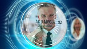 Digital countdown with media AE Version 5