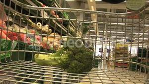 Stock Footage of Grocery Shopping