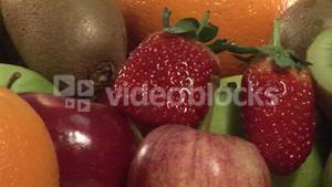 Stock Footage of a Basket of Fruit