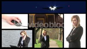 Stock Video Footage of a Business Montage
