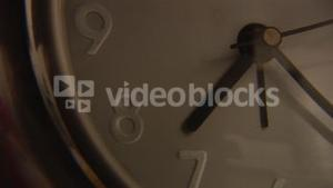 Clock Showing Time Passing