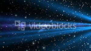 Shooting stars on black background