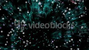 Stock Animation of fireworks 2