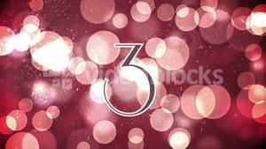Countdown from ten to one for the new years