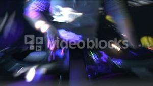 DJ at Work in Disco