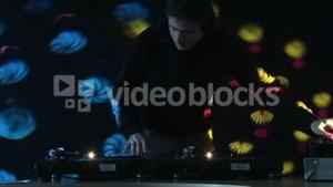DJ at Work in Disco 02