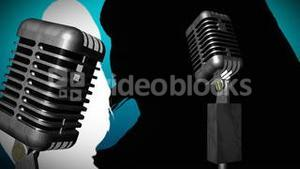 Microphone with Dancer