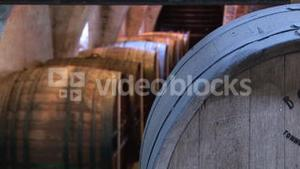 Pull Focus on Wine Barrels