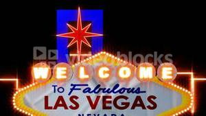 Las vegas Sign Animated
