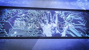 Hand print and circuit boards