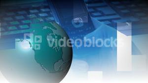 World Business Motion Background