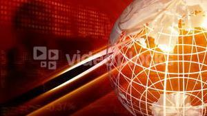 Red Globe background