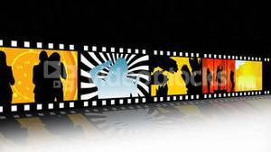 Entertainment Movie Film Strip