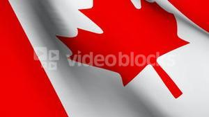 3D Animated Flag of Canada