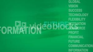 Stock Business Animation Background