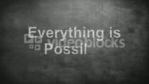 Everything is possible