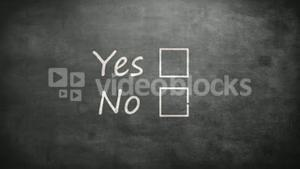 Yes and no options