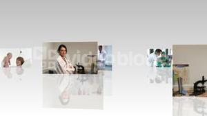 Montage of Doctors and patients