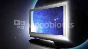 Globe on LCD Television 2