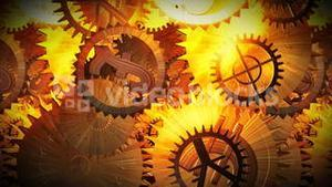 Gears and Cogs moving